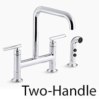 kohler two-handle faucet